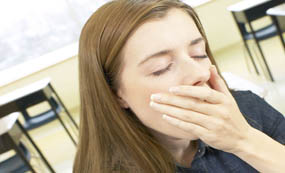 睡眠健康 - 年輕人經常打瞌睡不要輕視